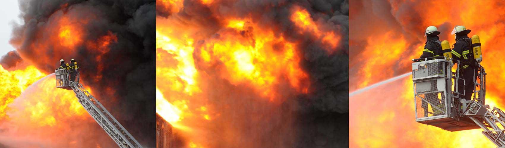 Brandschutzhelfer-Feuerlöschtraining
